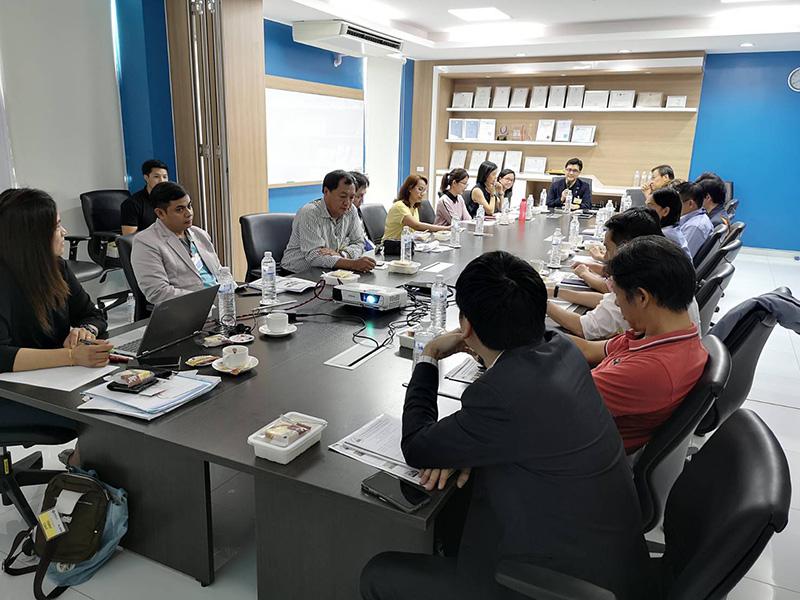 ประชุมโครงการสัญจร สานสัมพันธ์ธุรกิจ คลังสินค้าไซโลและห้องเย็น ครั้งที่1